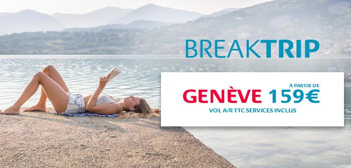 Genève, 3 fois par jour avec des horaires idéal pour les business