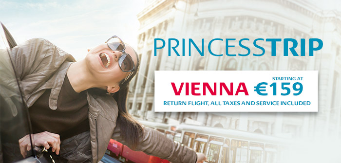 Vienna, 3 times per day at prime times!