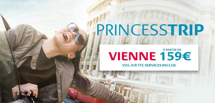 Vienne, 3 fois par jour avec des horaires idéaux !