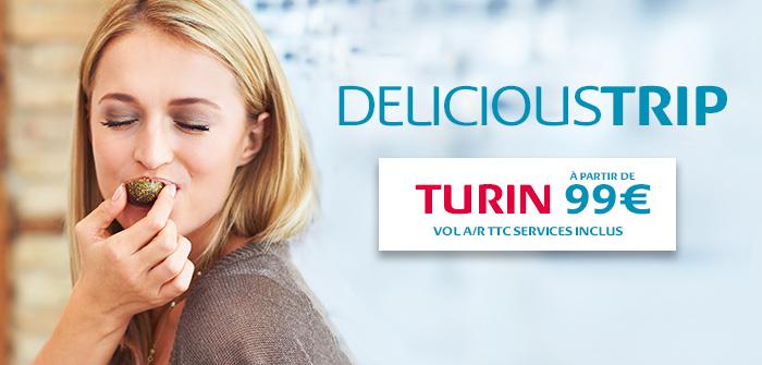 Nouvelle Destination! Turin 4x par semaine àpd 99€*!