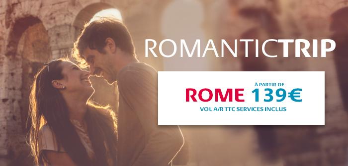 Rome, chaque jour de la semaine à partir de 139€*