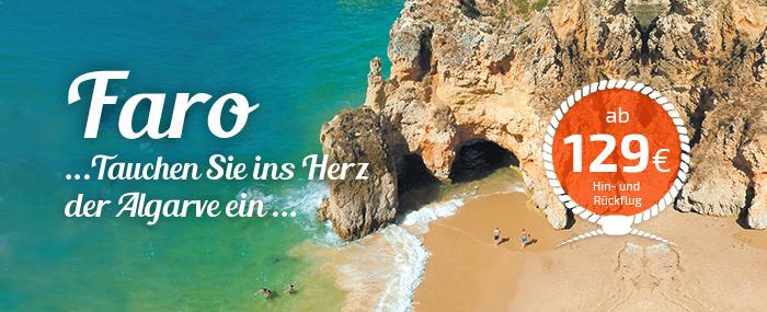 Faro, ideal um die Algarve zu entdecken
