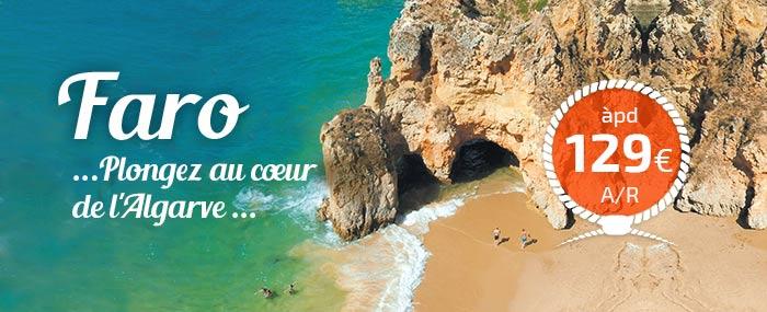 Faro, le point de départ idéal pour découvrir l'Algarve