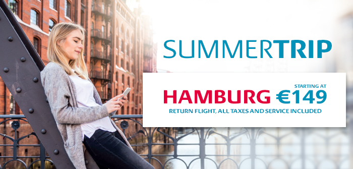 Hamburg from 149€! Book now!