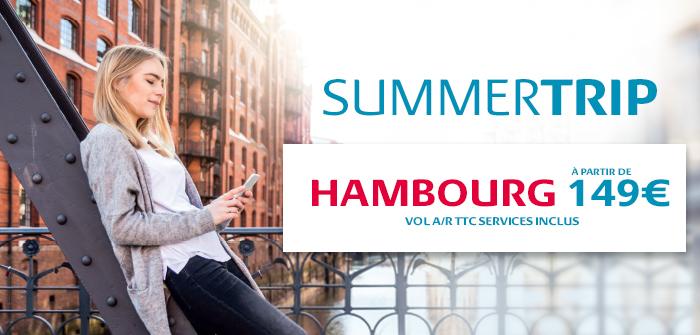 Hambourg àpd 149€! Réservez vite!