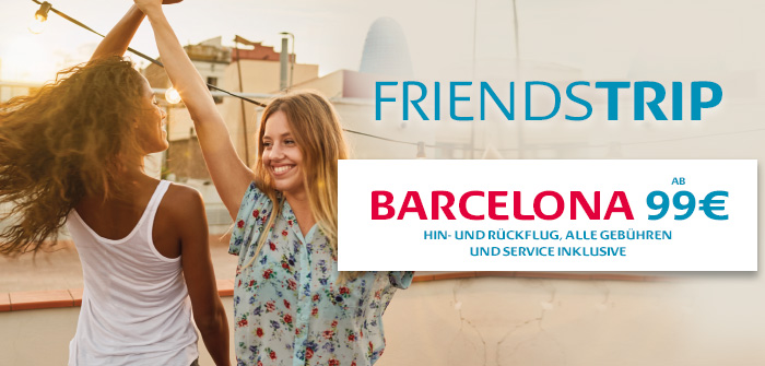 Barcelona, ideal um die Algarve zu entdecken