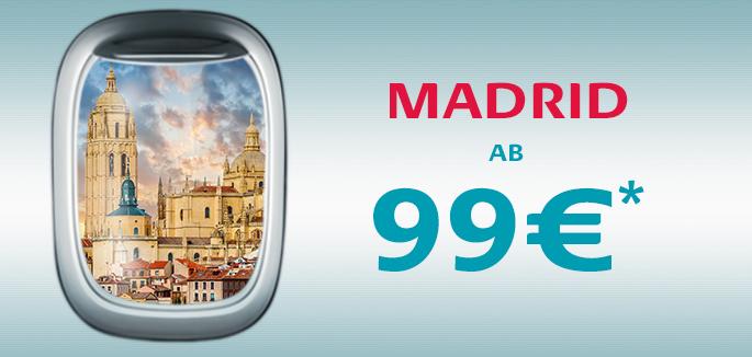 Madrid mit allem Komfort, ¡Vamos!