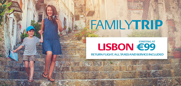Lisbon from Monday to Friday from 129€*