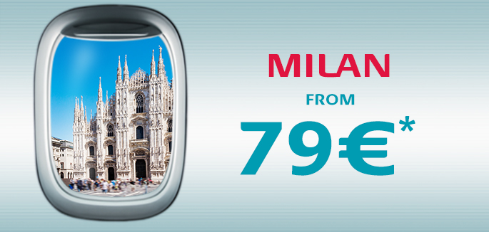 Fly to Milan in comfort, ¡Vamos!