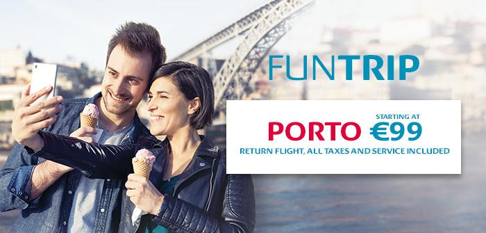 Porto: 6 Return Flights per Week from 149€*, all incl.!