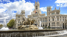 photo of the city of Madrid